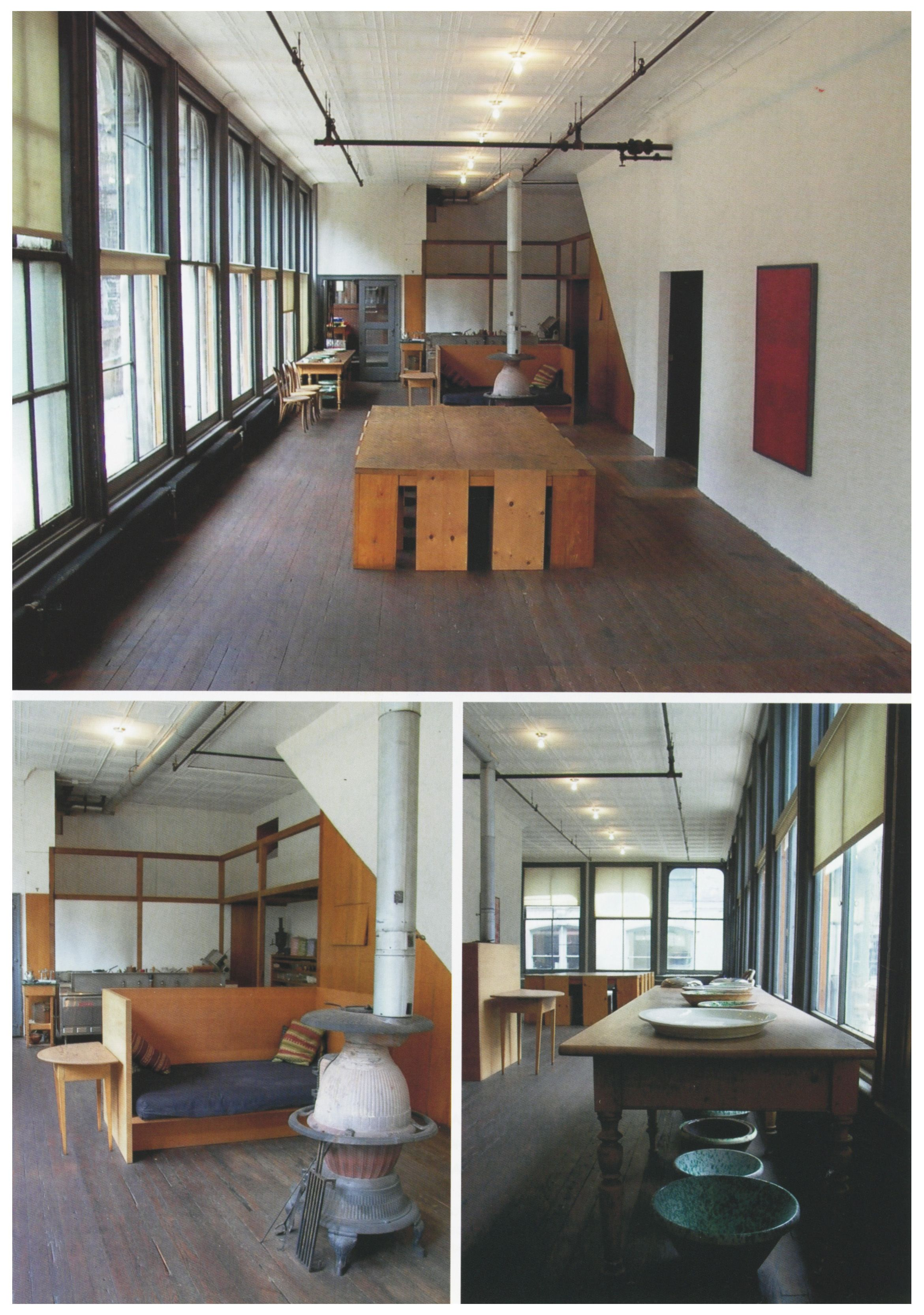 Donald Judd House 101 Spring Street First Floor With Dining