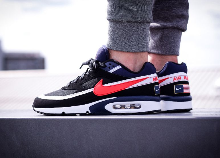 nike air max bw premium olympic deck