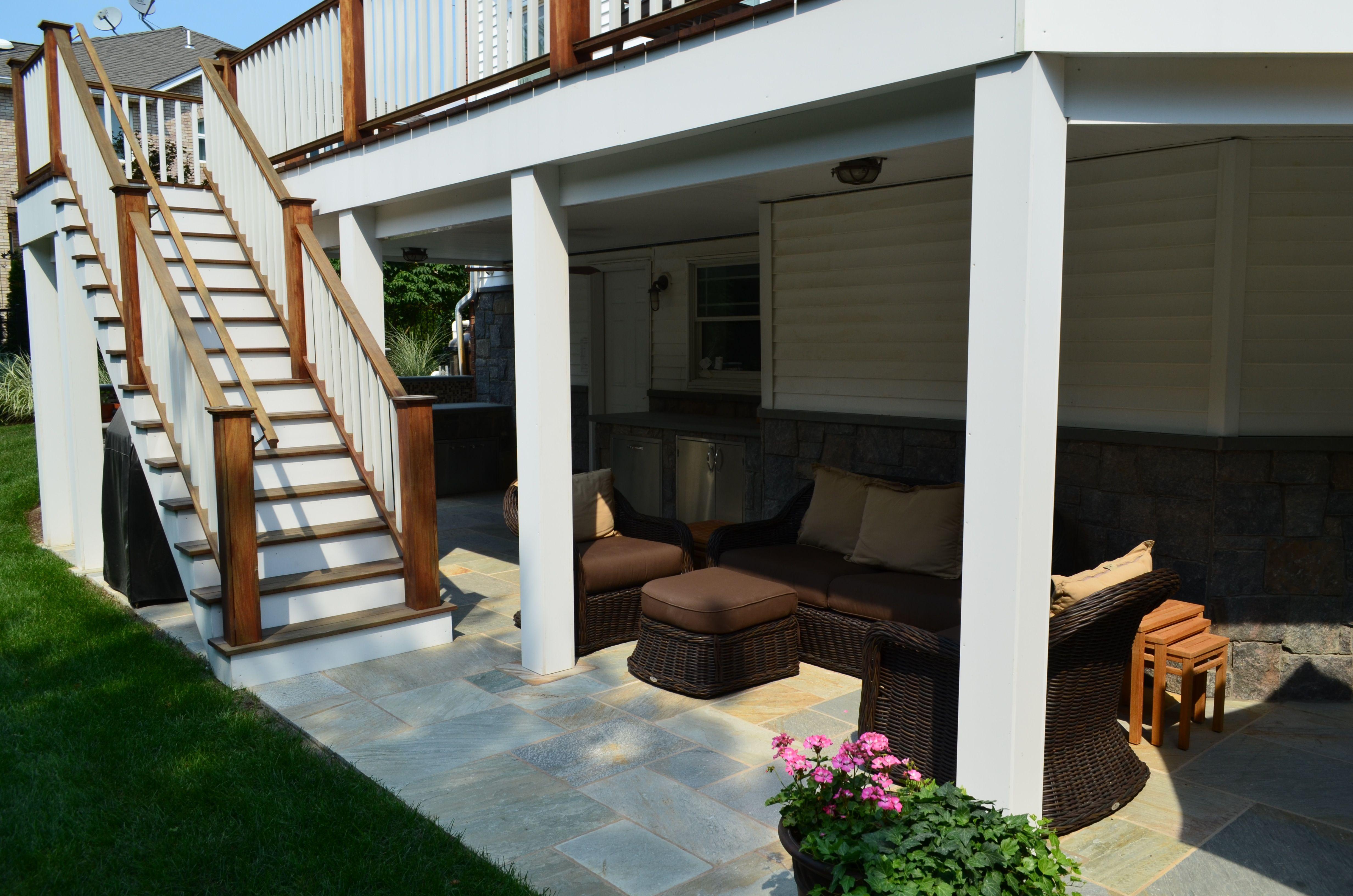 2013 Best Custom Swimming Pools Cipriano Landscape Design Nj Walkout Basement Patio Patio Under Decks Contemporary Patio