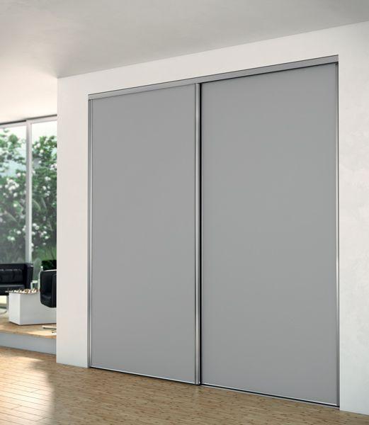 Portes coulissantes placards / dressings / pièces Sogal® Deco D - pose de porte interieur