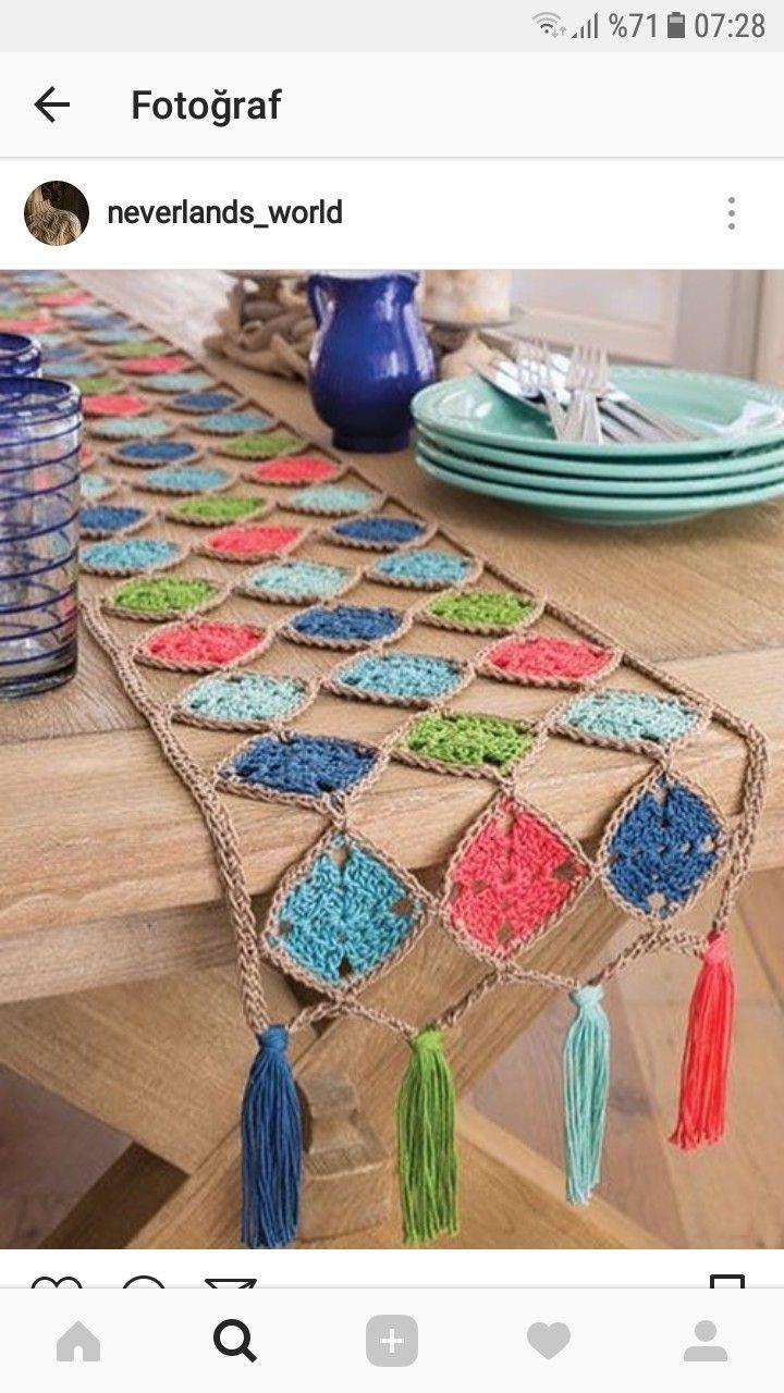 Masa Tantc Motifler Pinterest Crochet Patterns And Trippy Hippy Afghan Pattern Kingdom Knitting