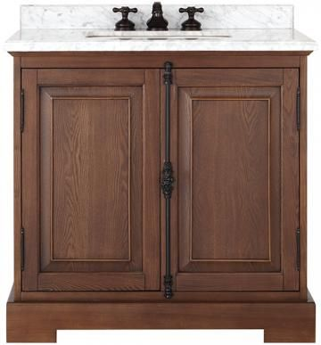 "Vanities For Half Bath clinton 36"" single vanity - bath vanities - single vanity"