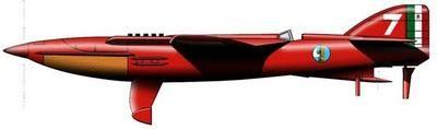 PC-7 Pegna Italian Racing Piaggio PC7 Airplane Kiln Wood Model Replica Small New