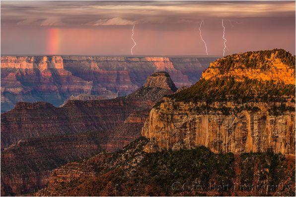 Three Strikes, Bright Angel Point, North Rim, Grand Canyon