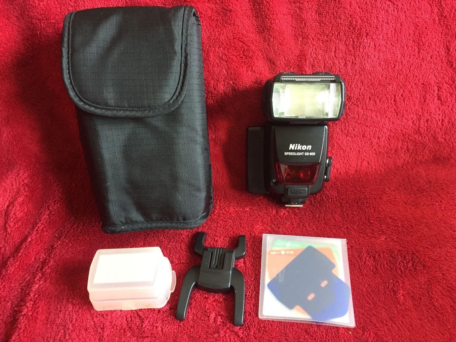 Nikon sb 800 speedlight flash unit with case good condition 1 nikon sb 800 speedlight flash unit with case good condition 1 baditri Images