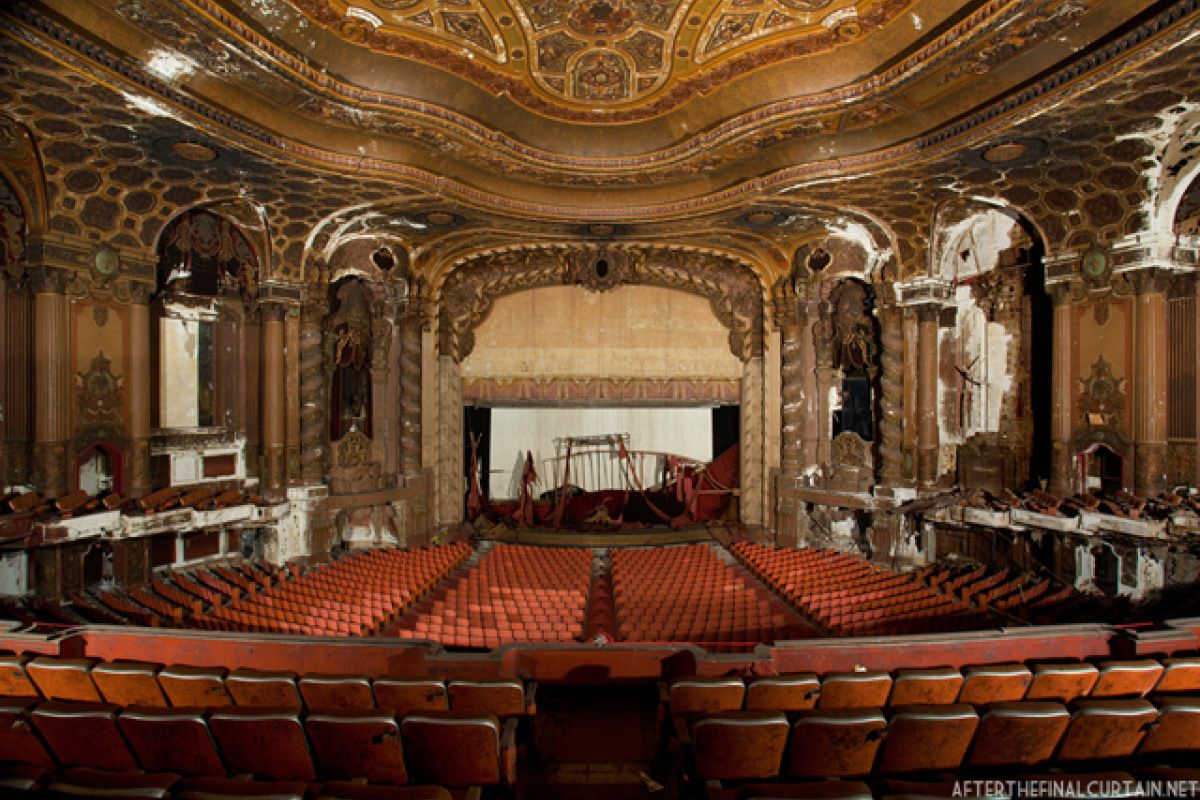 Loew S Jersey City Theatre Architecture Abandoned Mansions New York Movie