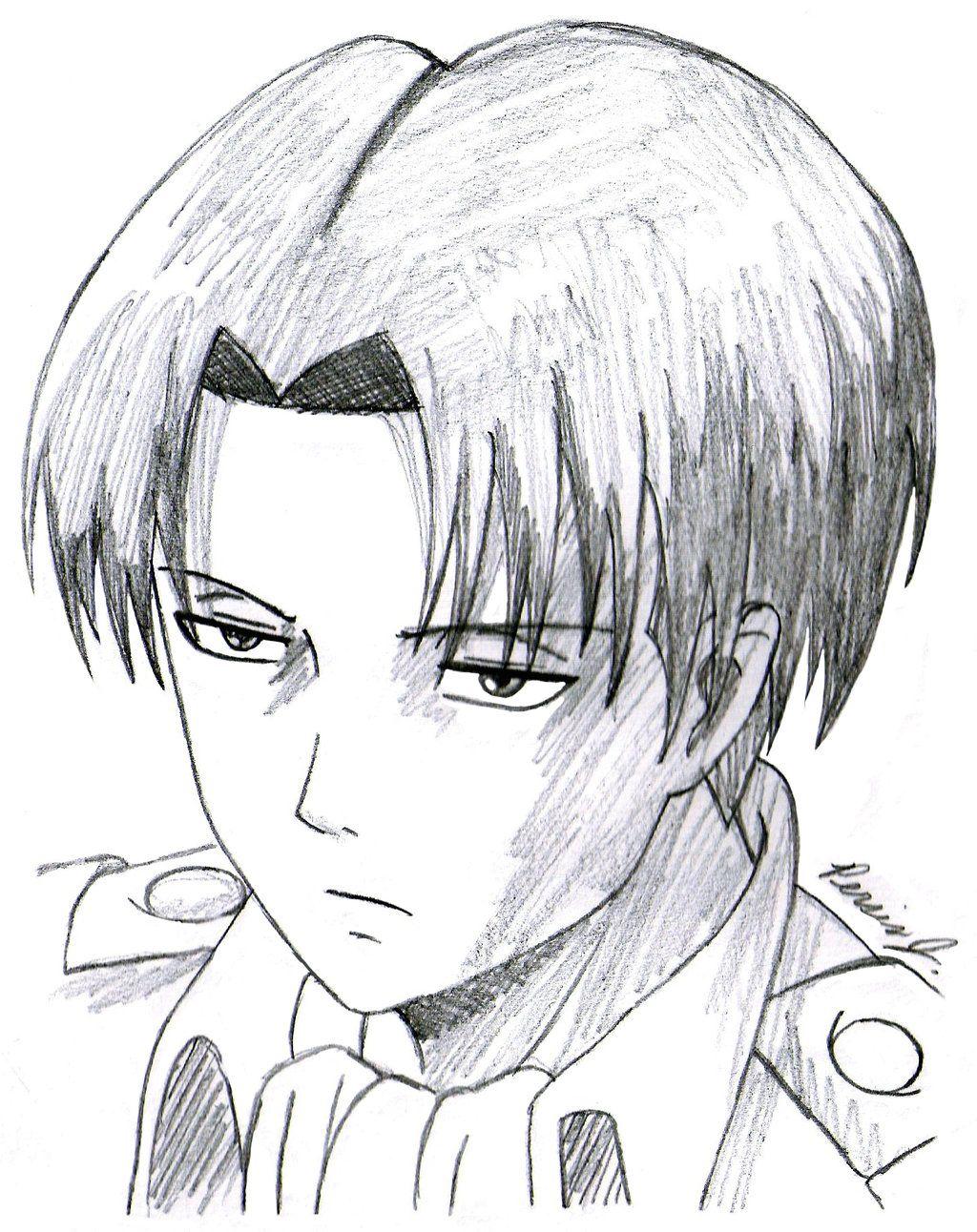 Levi Ackerman Sketch By Pdj004 On Deviantart Easy Drawings Sketches Anime Drawings Sketches Anime Drawing Styles