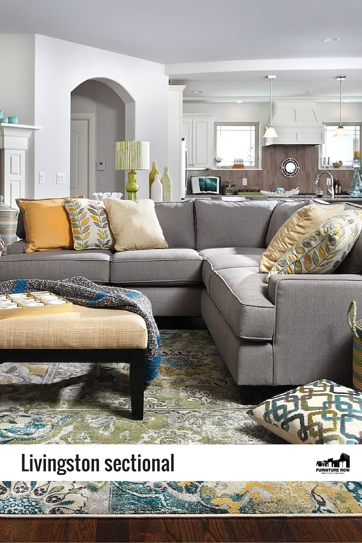 Sectionals-Livingston 9 Pc. Sectional-Let in the springtime breeze
