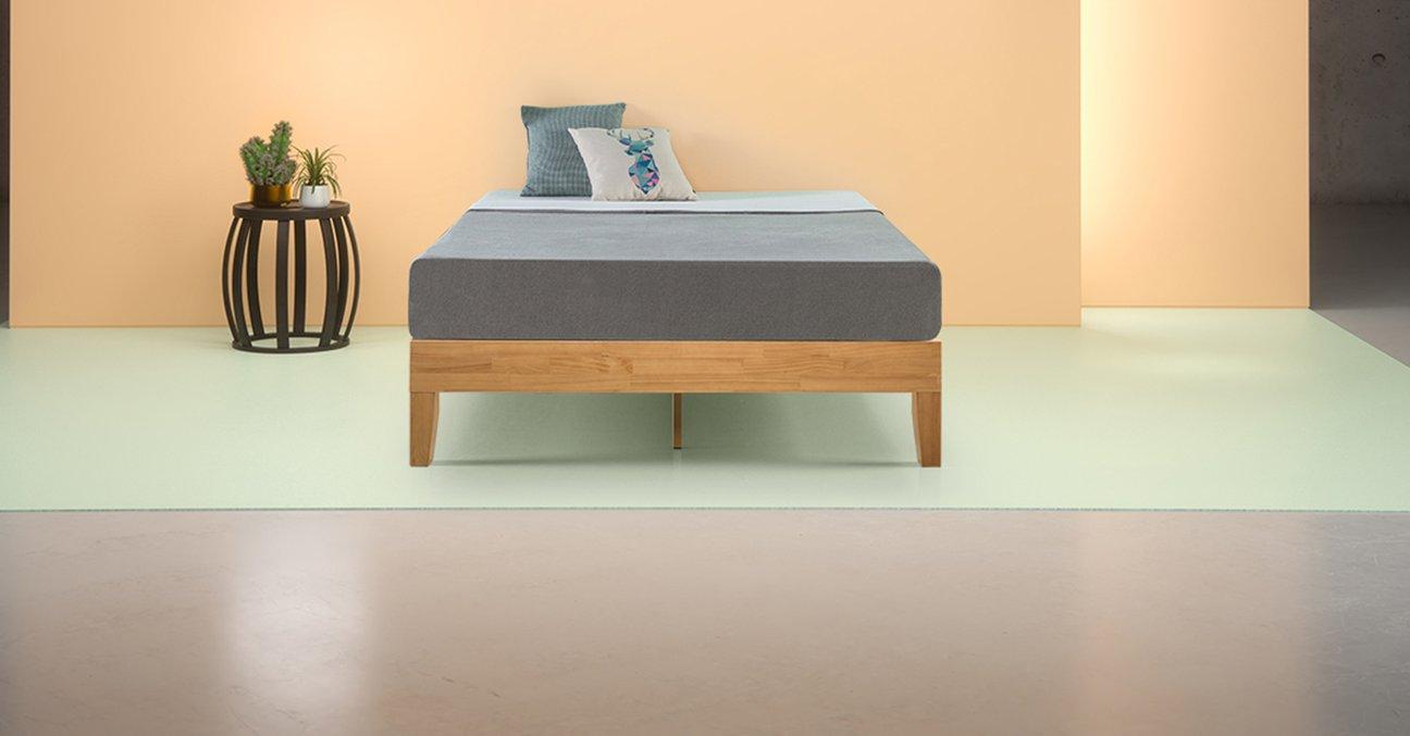 Moiz Deluxe Wood Platform Bed Frame Wood Platform Bed Frame Wood Platform Bed Platform Bed Frame