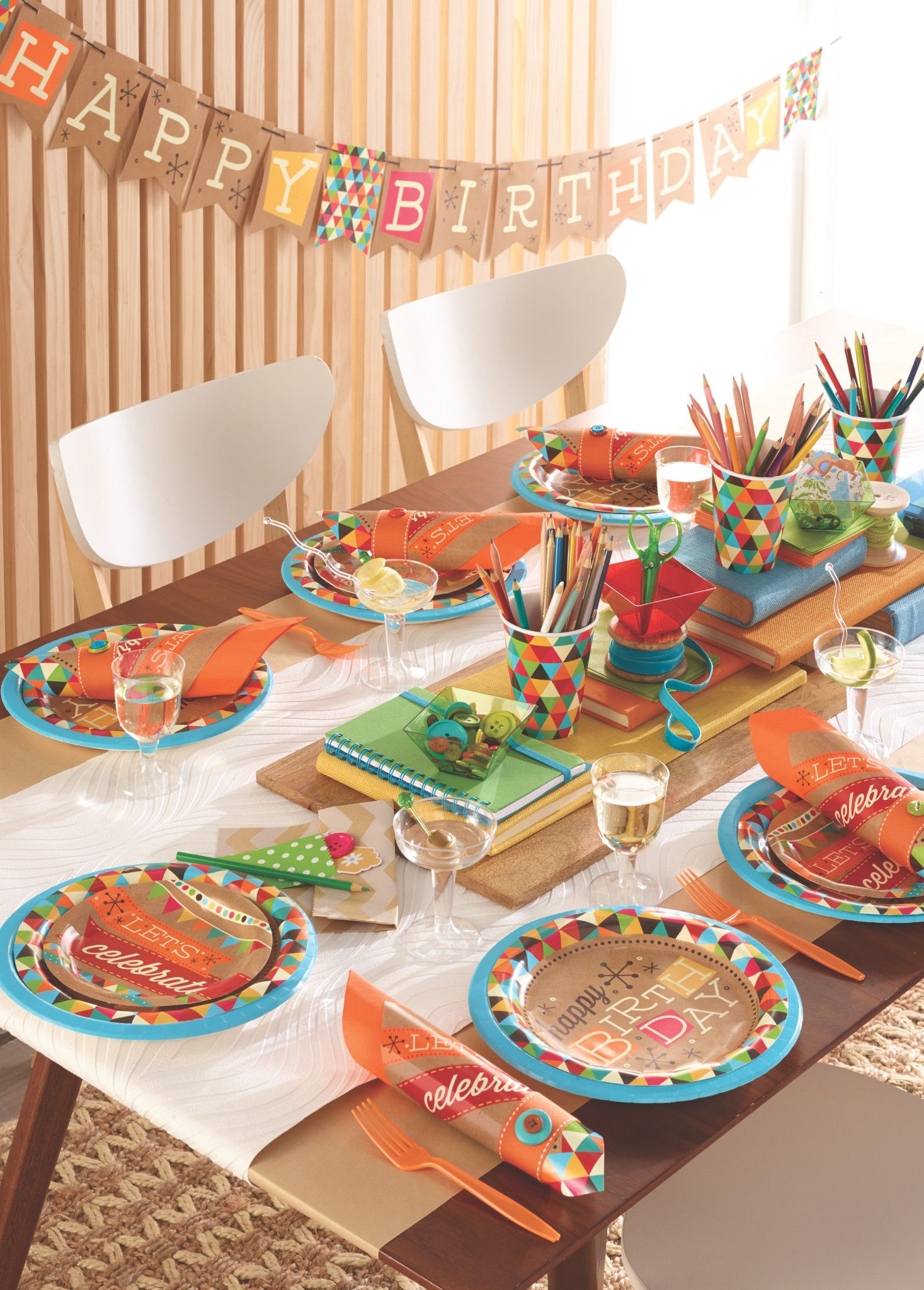 Adult birthday table decorations - Adult Birthday Party Supplies
