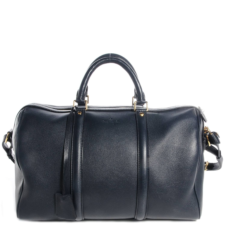 louis vuitton calf leather sc bag mm cobalt