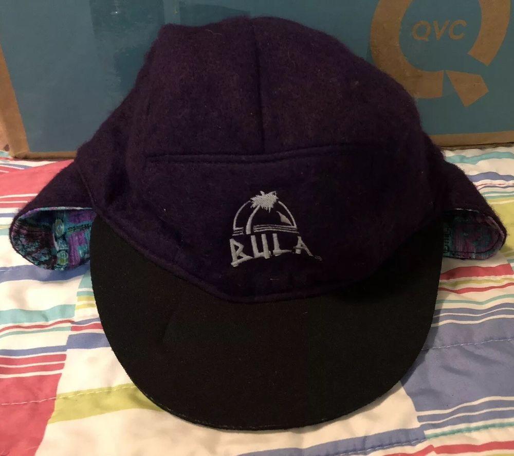 3a502d6e Vintage Billabong Casual Hat Adjustable Purple Multi Color ...