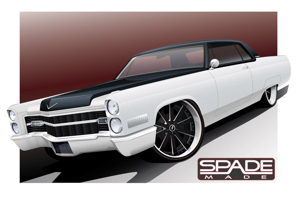 65 caddy  1966 Cadillac Coupe Deville Project  Cars  Pinterest