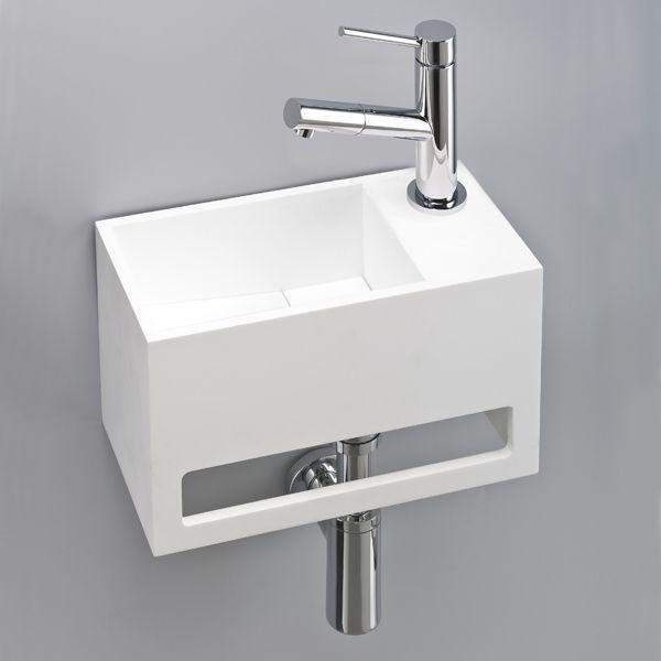 Design Pratique Et Peu Encombrant Lave Main Avec Porte Serviettes Relooking Toilettes Salle De Bain Lave Main Wc
