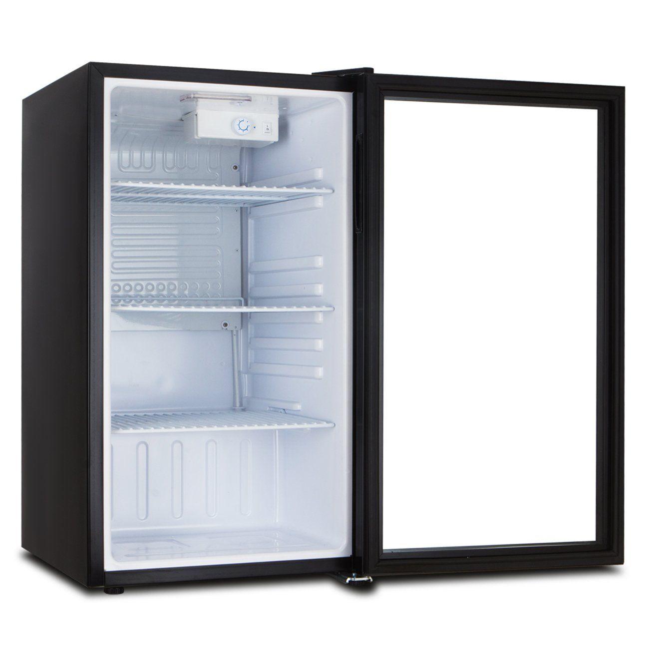 Della Beverage Refrigerator Cooler Compact Mini Bar Fridge Beer Soda Pop Reversible Glass Door Black Check Out Th Bar Fridges Mini Bar Beverage Refrigerator