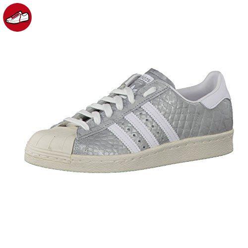 Adidas Sneaker Women SUPERSTAR 80S S76415 Silber, Schuhgröße:37 1/3 - Adidas