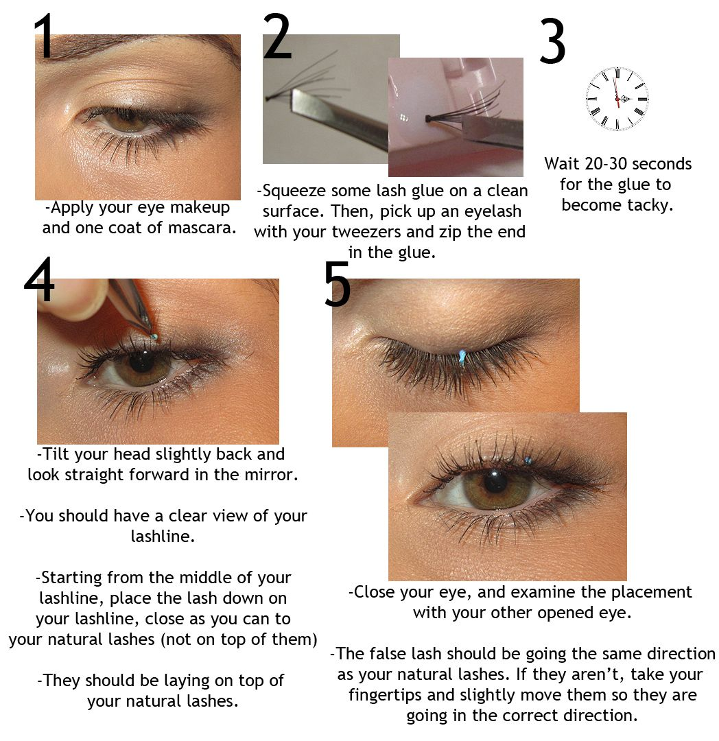 Step by Step How to Apply Individual Flare Lashes! GIVE