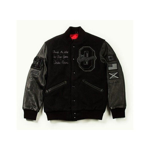 530023f4875b3f Drake To Release Limited Edition OVO Varsity Jackets ❤ liked on Polyvore