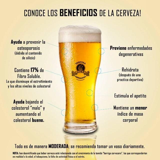 Pin De Pili En Salud Cerveza Beneficios Cerveza Imagenes De Cervezas