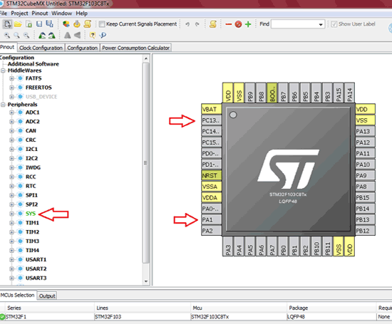 STM32F103C8 Pinout | STM32 Projects & Tutorials in 2019