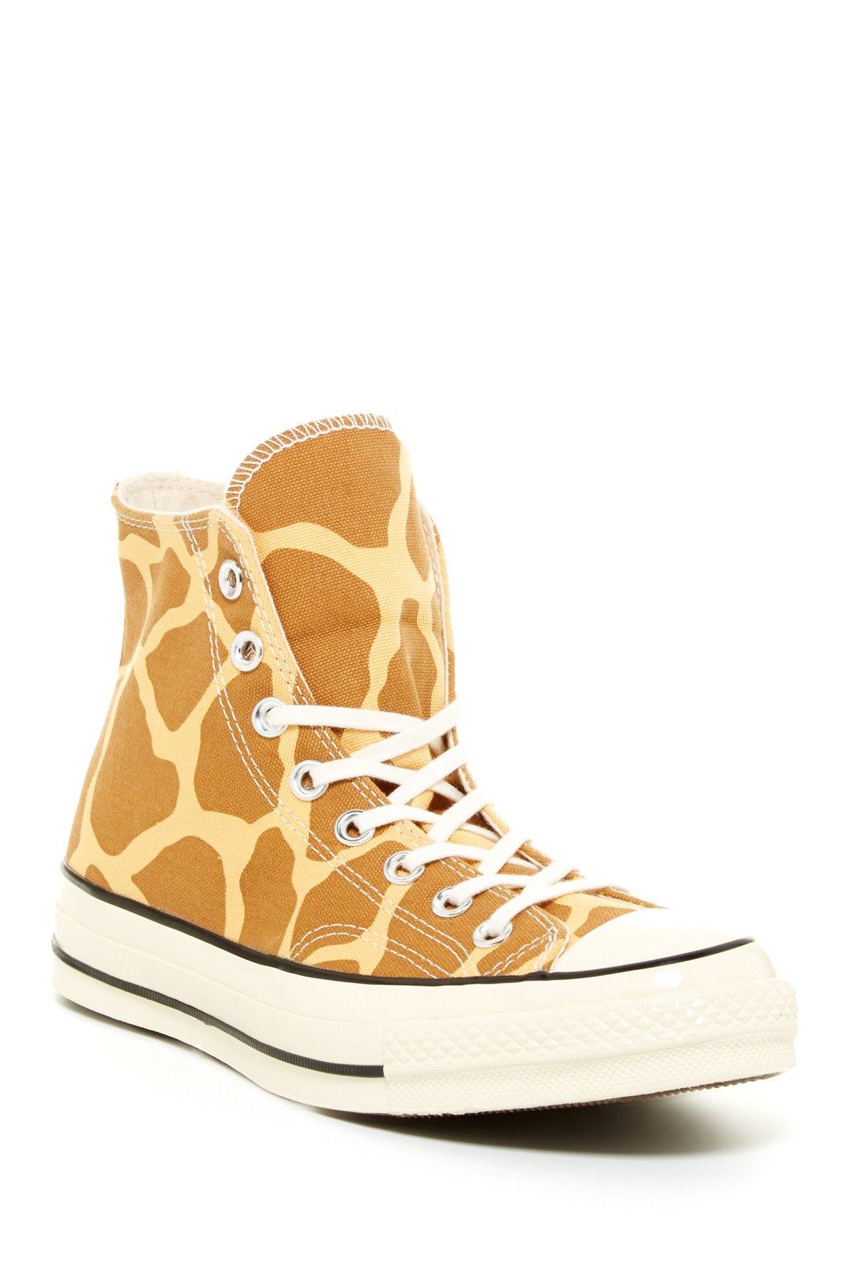 Cool Converse Giraffe Print High Top