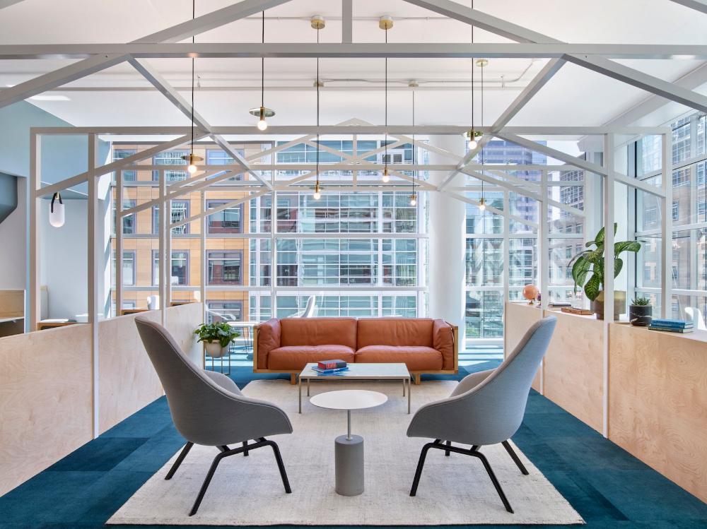 Slack Headquarter Design Awards 2019 Shaw Contract Lounge