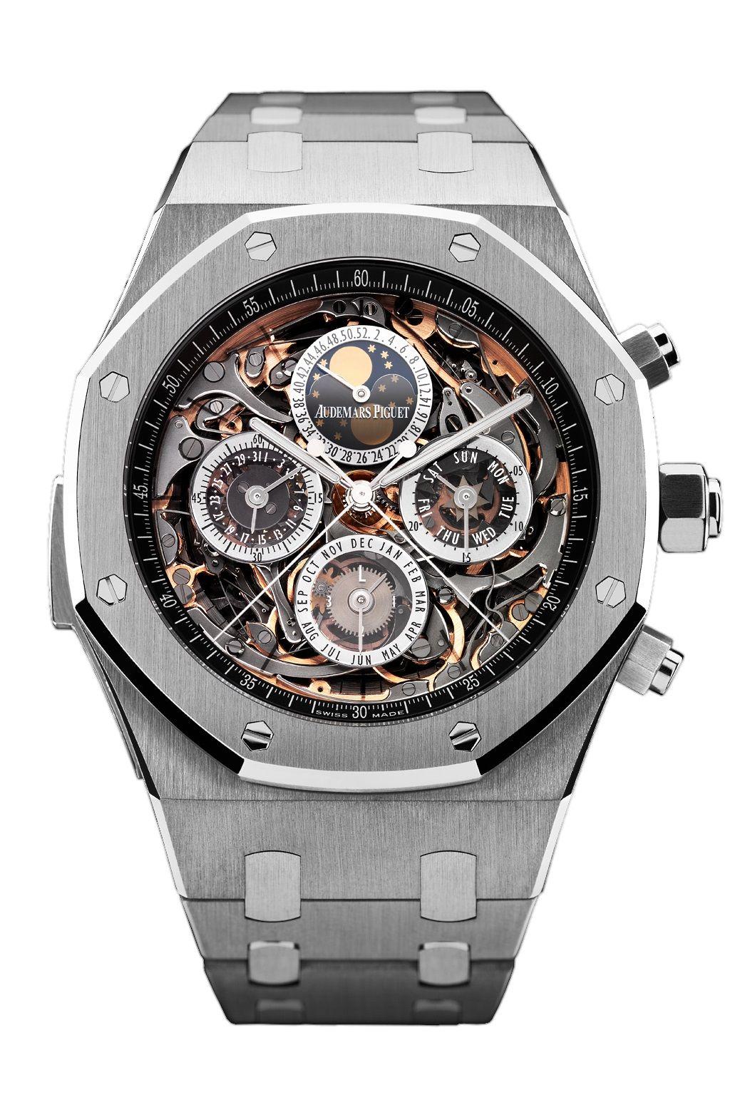 réplica Audemars Piguet Royal Oak OpenWorked Grande Complication reloj 26065IS.OO.1105IS.01