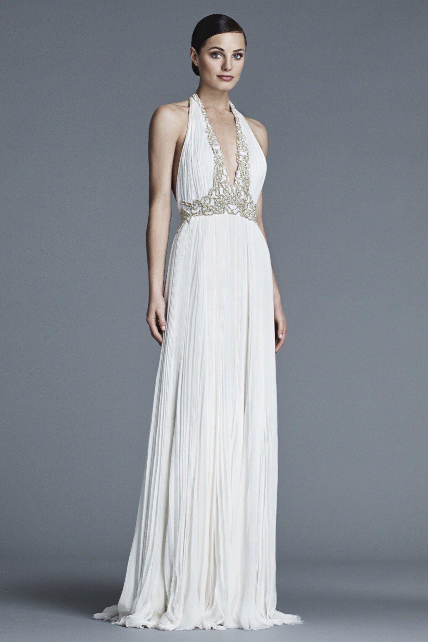 J. Mendel Bridal Spring 2016 Fashion Show   Brautkleid ...