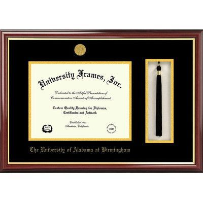 Campus Images NCAA University of Alabama, Birmingham Tassel Box and ...