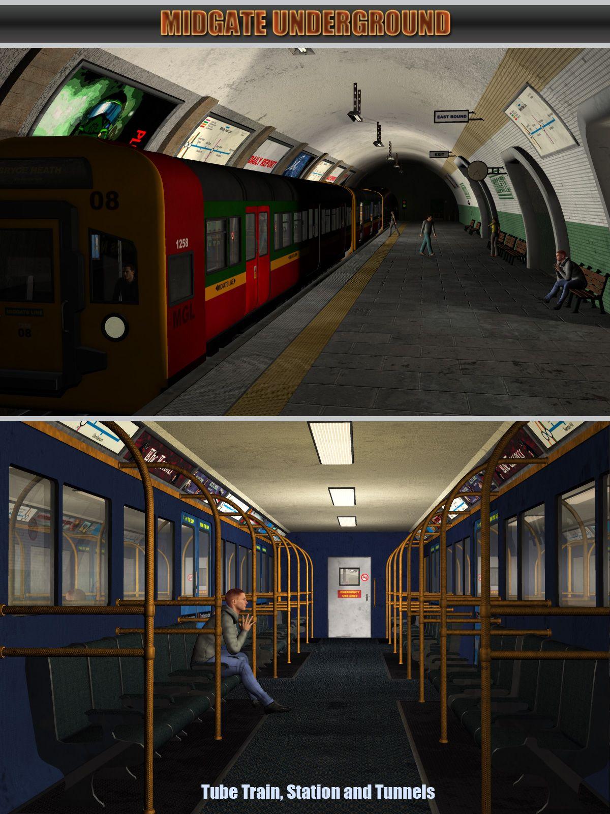 Midgate Underground Tube Station