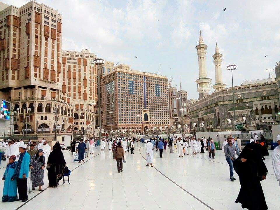 Busy Streets Of Mecca