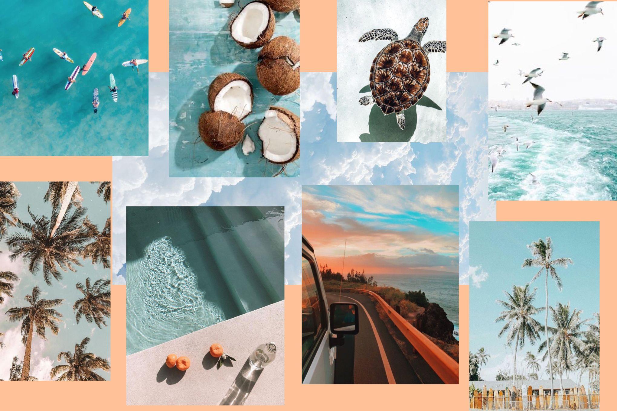 Beach Vibes Macbook Wallpaper Macbook Wallpaper Wallpapers Summer Cute Background Pictures Aesthetic wallpaper beachy vibes