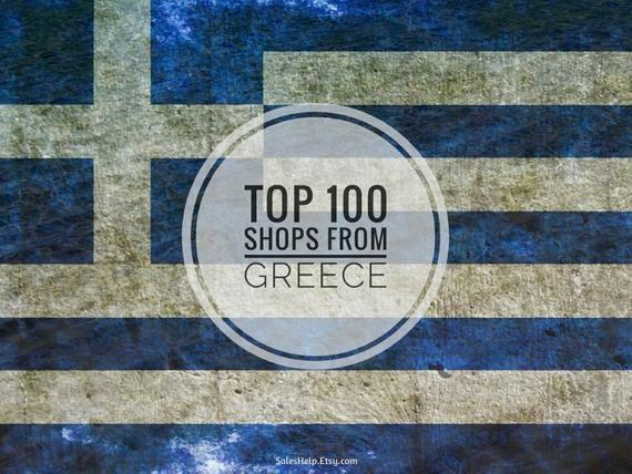 Top Etsy Shops GREECE, Greek Popular Etsy Sellers, Made in Greece, Trending Shops, Top…