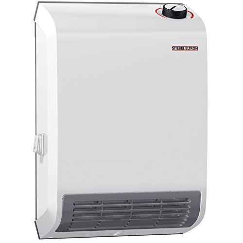Stiebel Eltron 236304 Ck Trend Wall Mounted Electric Fan Heater 1500w 120v Heater Electric Fan Garage Heater