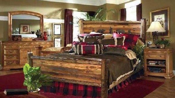 Rustic Bedroom Furniture Designs #FurnitureIdeasProjects