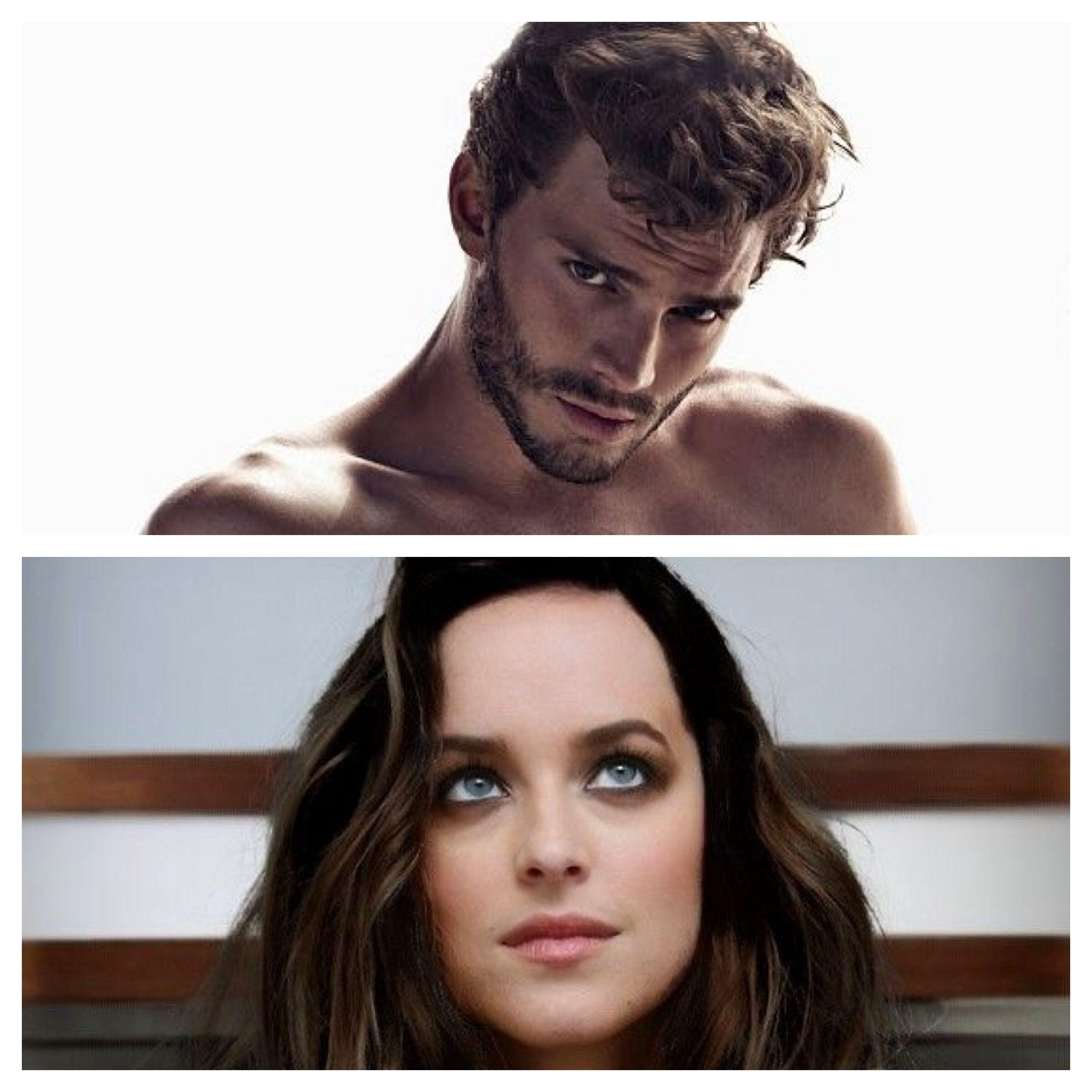 Jamie Dornan, Dakota Johnson - Christian Grey & Ana Steel, Fifty Shades of Grey