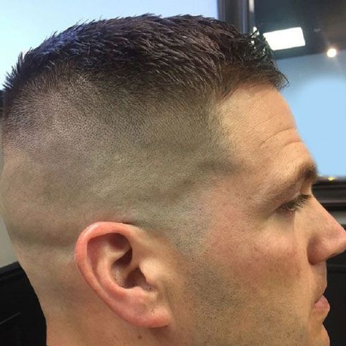 44++ High fade military haircut inspirations