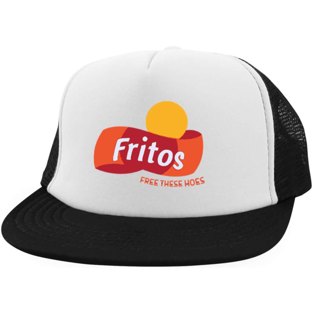 706018c3e51 Free These Hoes Trucker Hat with Snapback