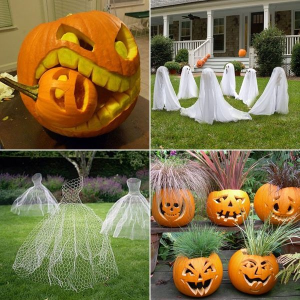 13 Halloween Decoration Ideas for Your Inspiration -   www - good halloween decoration ideas