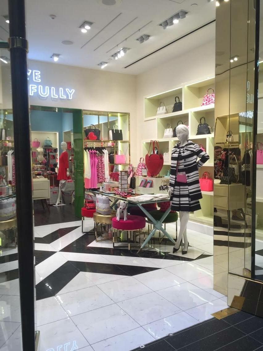 Photo of the interior at the Eaton Centre location from the outside of the store