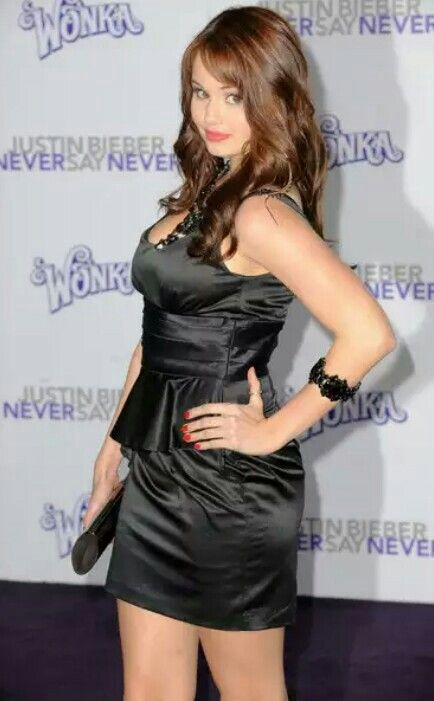 Debby ryan sexy dress