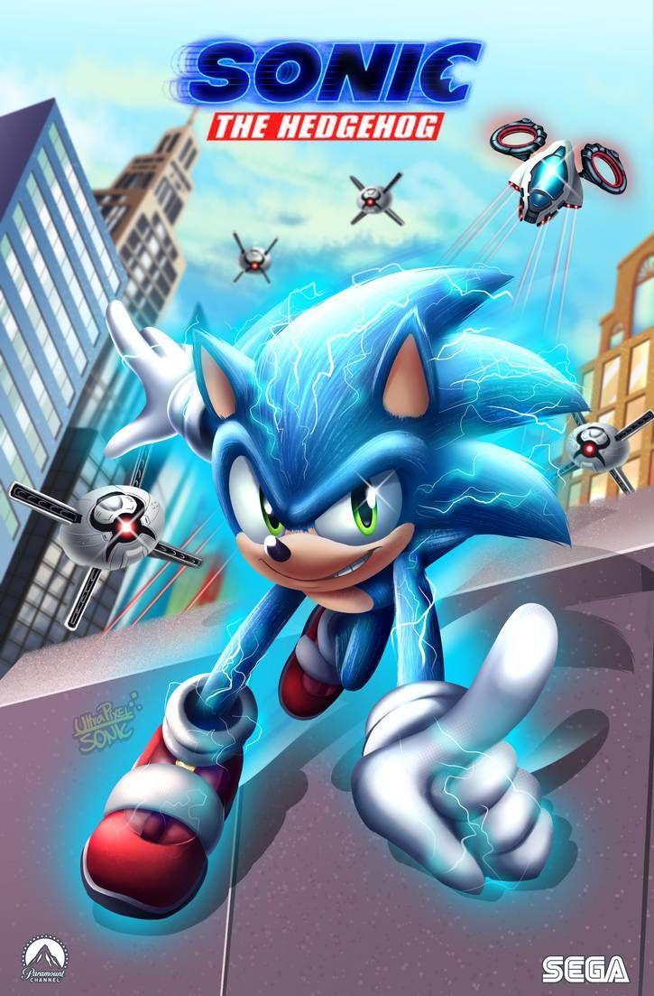 Sonic Movie Premiere by UltraPixelSonic on DeviantArt in