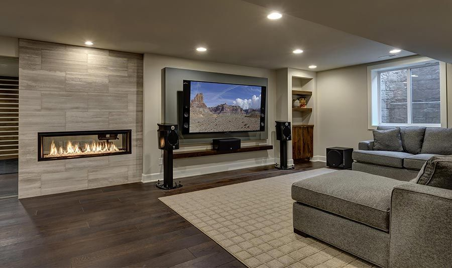 Basement home theater ideas, DIY, small spaces, budget ...
