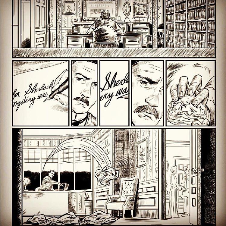 [SIC] MONKIE — Arthur Conan Doyle's attempt at writing the return...