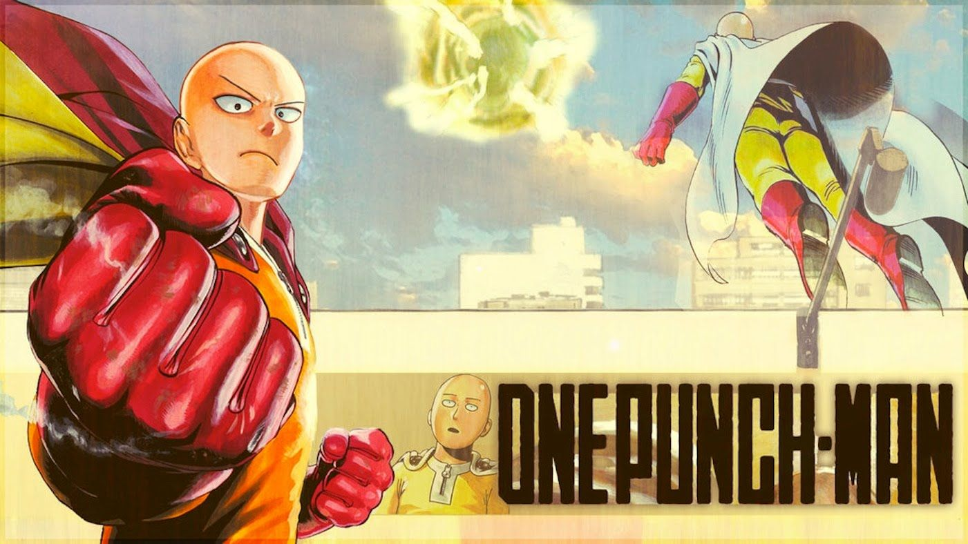 One punch man episode 1 english sub full screen   One
