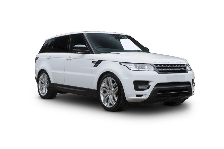 Land Rover Range Rover Sport 5.0 V8 S/C SVR White Google