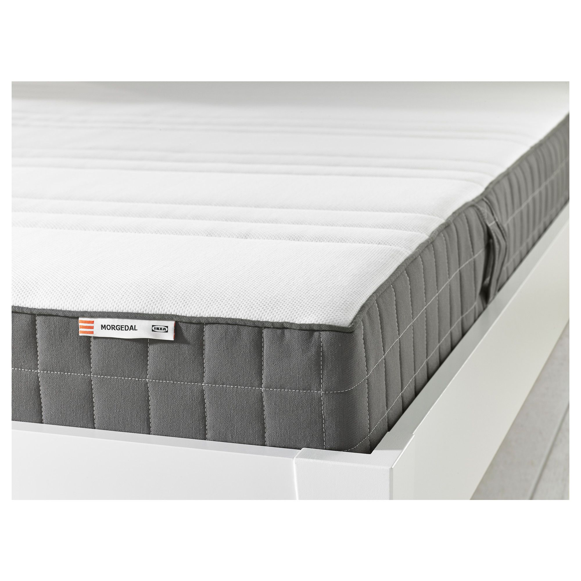 Foam mattress firm, dark grey Standard Double