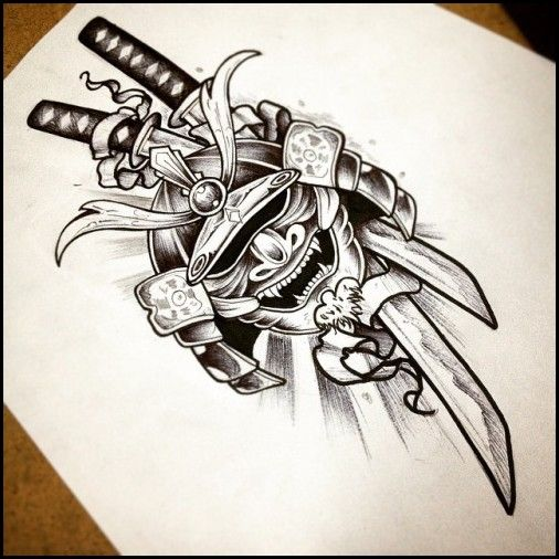 4 Samurai Fighting Dragon Tattoo Meaning Tattoo Ideas