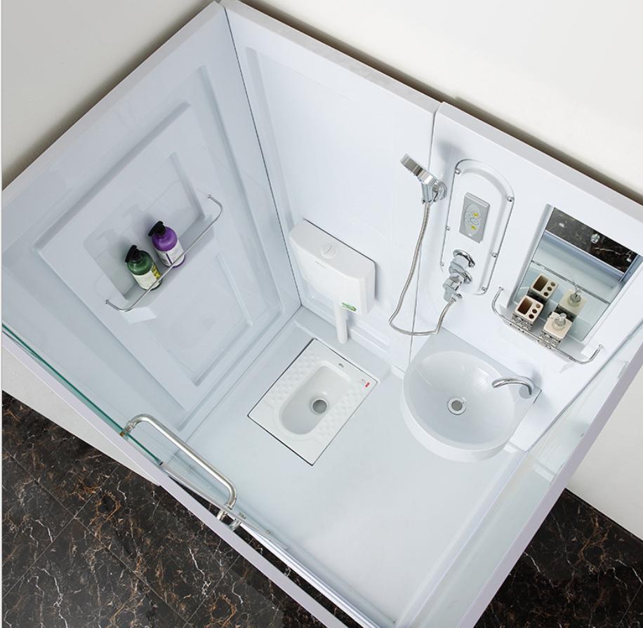 Cheap But High Quality Bathroom Prefab Modular Bathroom