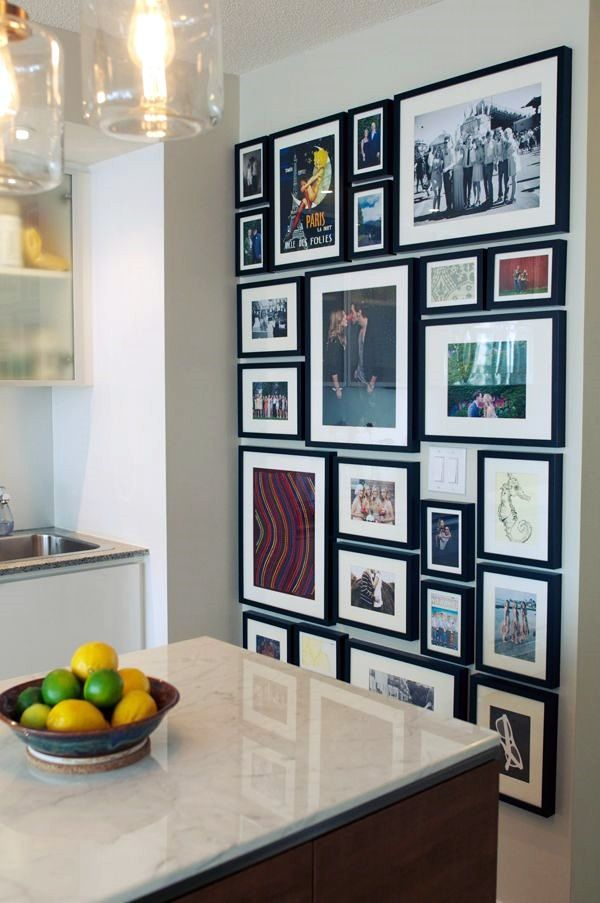 Art Arrangement Wall Love The Different Frames Description From Pinterest Com I Searched For This On Bing Images Home Decor